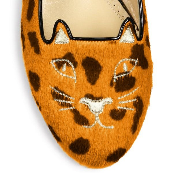 Leopard Print Flats Suede Cute Chaussures confortables image 3