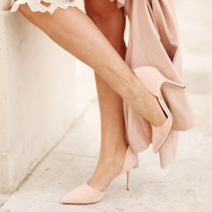 Chaussures Blush Femme Chic D'orsay Talons
