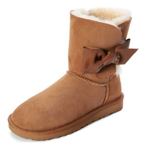Camel Winter Boots Flat Suede Comfy Mid Calf Snow Boots US Size 3-15