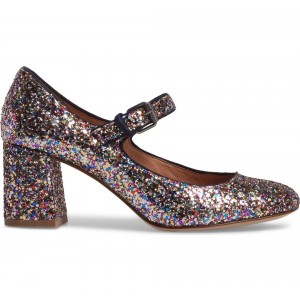 Couleurs Glitter Block Heels - Escarpins Mary Jane à bouts ronds