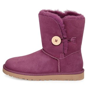 Violet Suede Flat Winter Boots